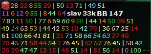 nl25 qq mp vs 3b bb  Hud10