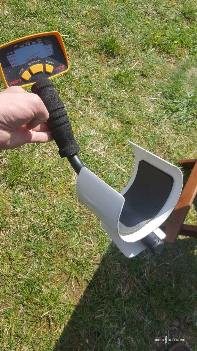 Как да си направим подлакътник за металотърсач 110