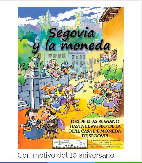 cómic Casa de la Moneda de Segovia Screen11