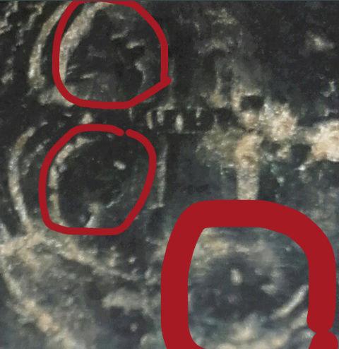 4 maravedís sobre moneda romana Screen12