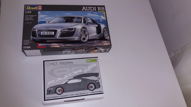 Audi R8 ( Revell) + Kits PPI RAZOR GTR ( C1 Model) - Página 2 20170523