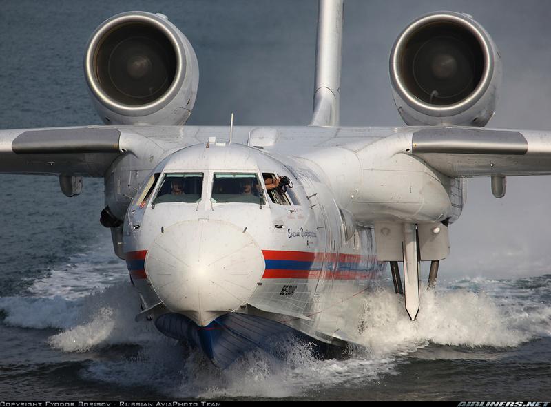 Argentina quiere comprar tres aviones anfibios rusos Beriev Be-200  17833710