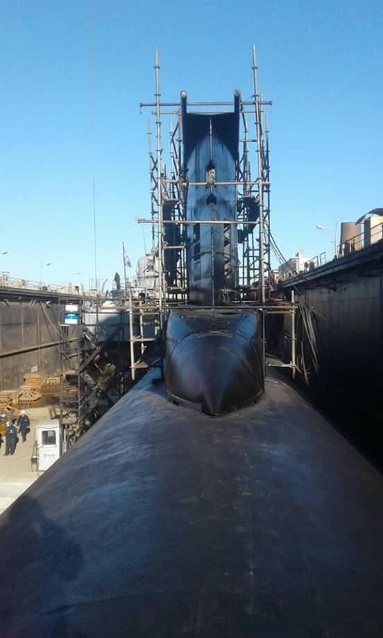 Submarino IKL Clase 209-1200 ARA Salta (S-31) - Página 2 18813810