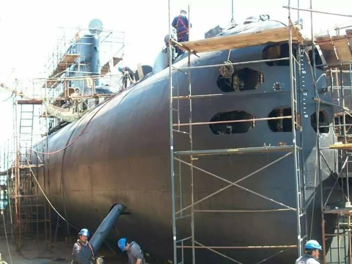 Submarino IKL Clase 209-1200 ARA Salta (S-31) - Página 2 18839111