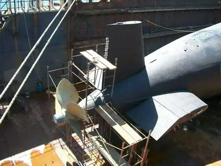 Submarino IKL Clase 209-1200 ARA Salta (S-31) - Página 2 18893210