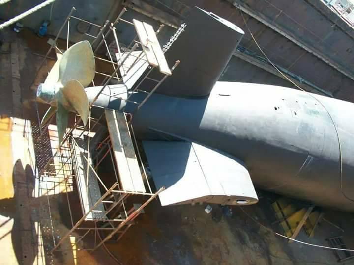 Submarino IKL Clase 209-1200 ARA Salta (S-31) - Página 2 18893310