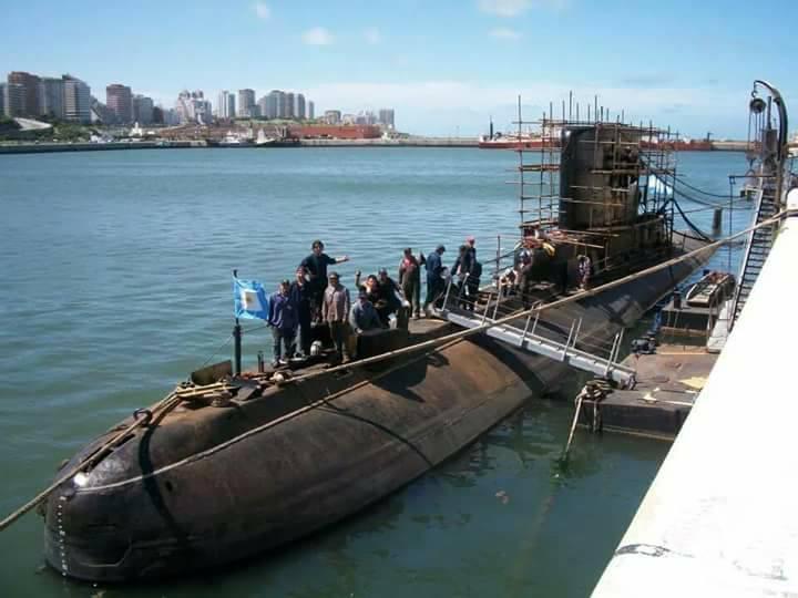 Submarino IKL Clase 209-1200 ARA Salta (S-31) - Página 2 18920210