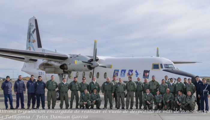 Adiós a casi cinco décadas del Fokker F-27 en Argentina Rz10