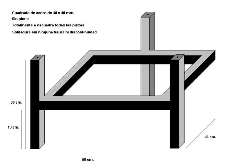 Mueble para equipo Esquem10