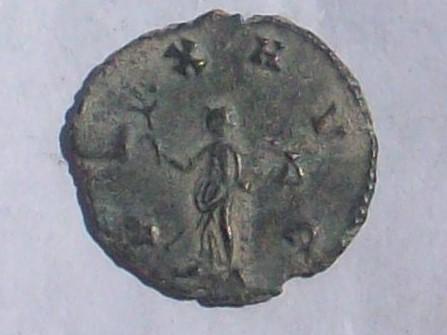 Antoniniano de Galieno. PAX AVG.  Roma 102_4031