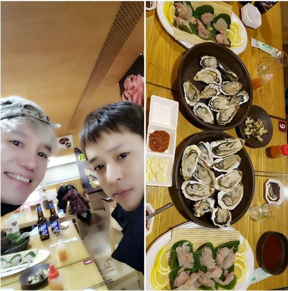 Imágenes de Kim Jeong Hoon compartida en las redes sociales de otras personas - Página 2 Foto_013