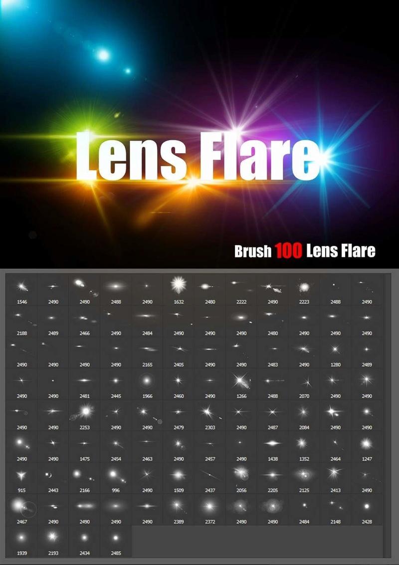 فرش اضاءات للتصميم احترافية . Brush Lens Flare - صفحة 2 18891810