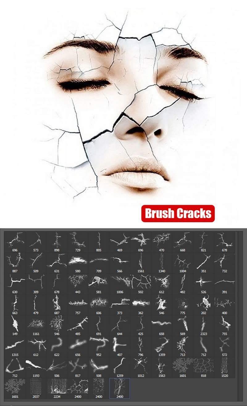 فرش فوتوشوب شقوق . فرش اضافة شقوق للتصميم . Brush Crack - صفحة 2 18953210