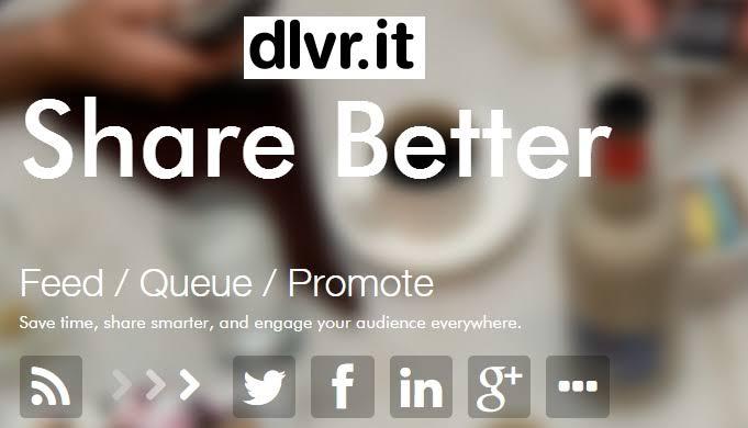 الدرس الثامن : نشر التلقائي لمواضيع موقعك بشبكات تواصل الاجتماعي Dlvrit10