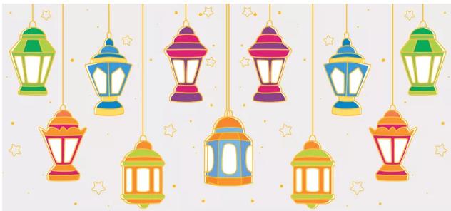 فوانيس رمضان فلات  . Flat فوانيس رمضان Screen71