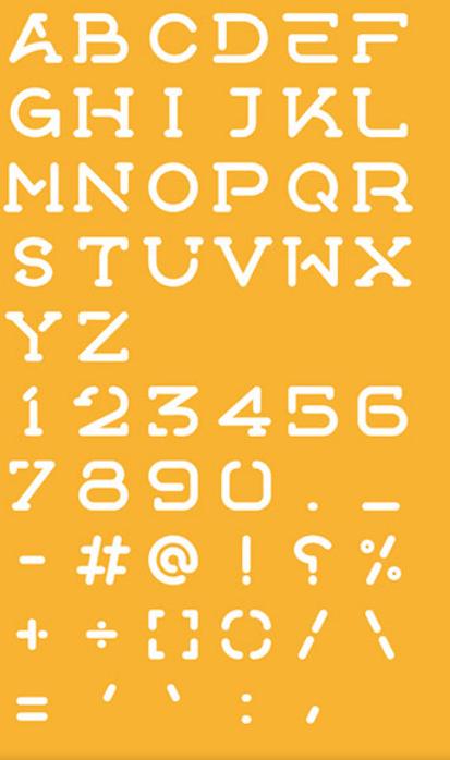 خط انجليزي جديد . خط مشروع AOOX || Free Typeface 4 Styles Screen72