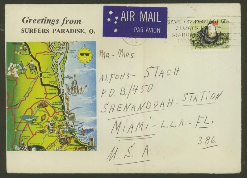 Briefe aus Übersee 65810