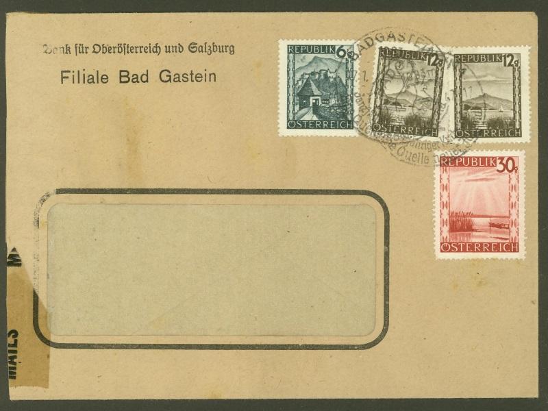 Briefe / Poststücke österreichischer Banken - Seite 3 Bank_f10