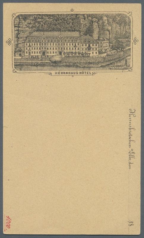 Zudruckkarten als Ansichtskartenvorläufer Herrnh12
