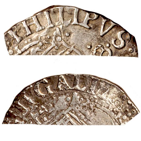 Tostao (100 reis ). Felipe IV ( III de Portugal ). 510