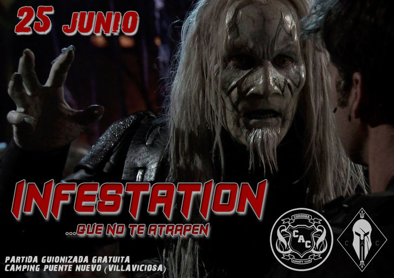 "PARTIDA ABIERTA ""INFESTATION"" | 25 JUNIO  | CAMPING (VILLAVICIOSA) Infest10"