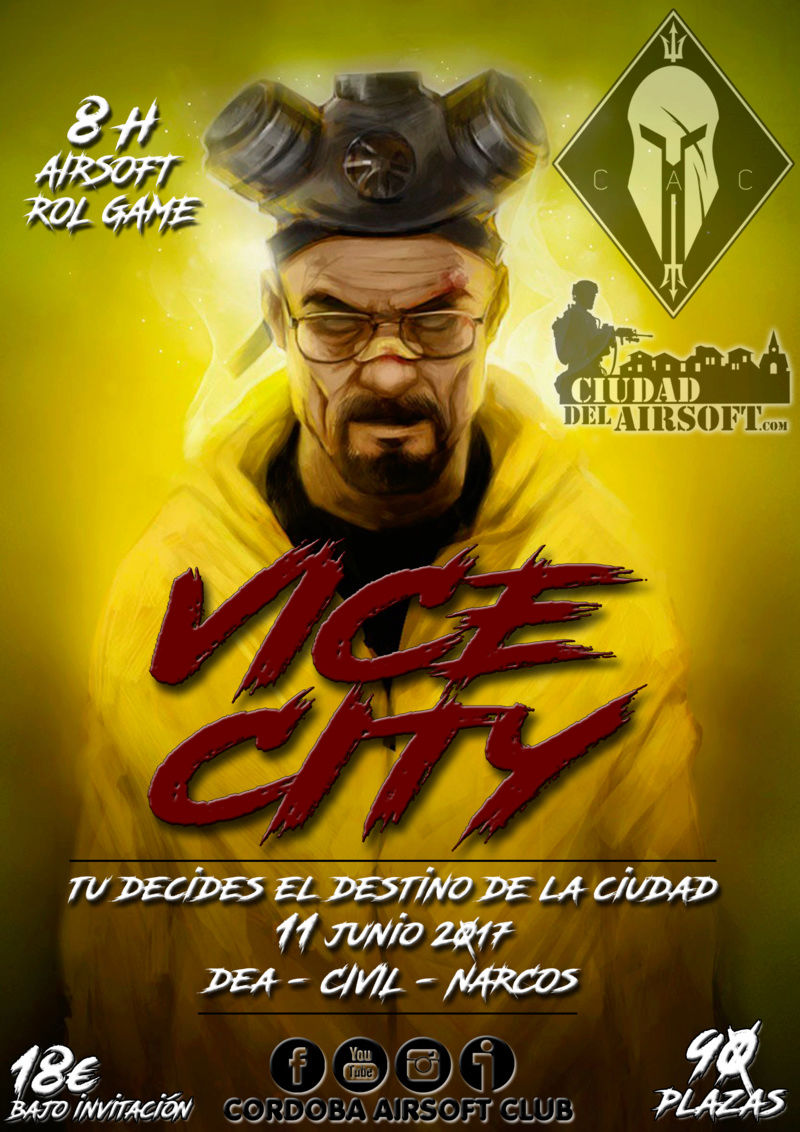 ROL GAME  VICE CITY  | 11 JUNIO | CDA (COIN)  Rol_ga11