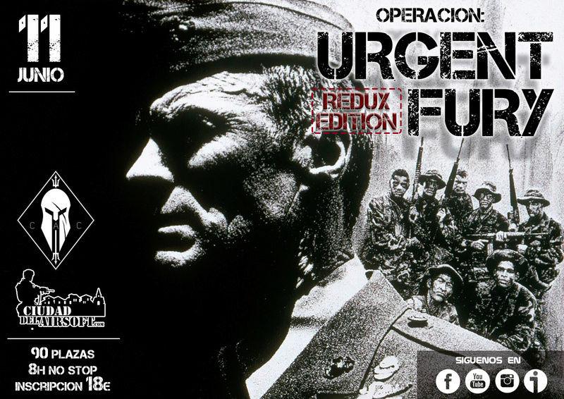 OP. URGENT FURY 8H | 11 JUNIO | CDA (COIN) Urgent10