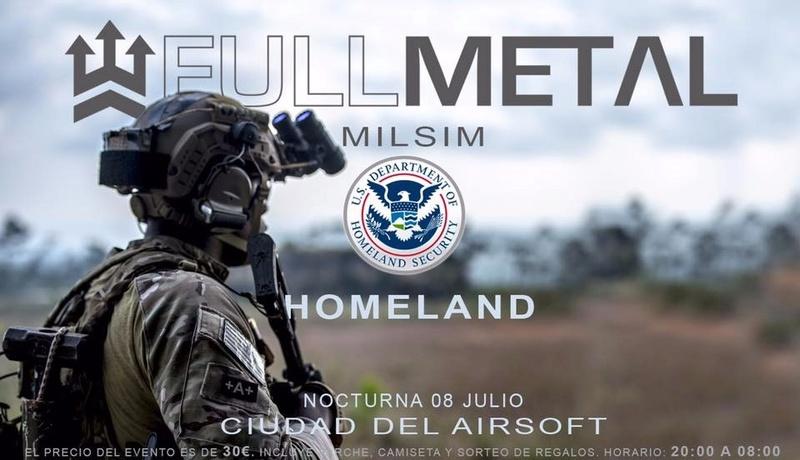 Milsim 12h HOMELAND | 8 julio | Fullmetal | CDA (Coín)  Whatsa10