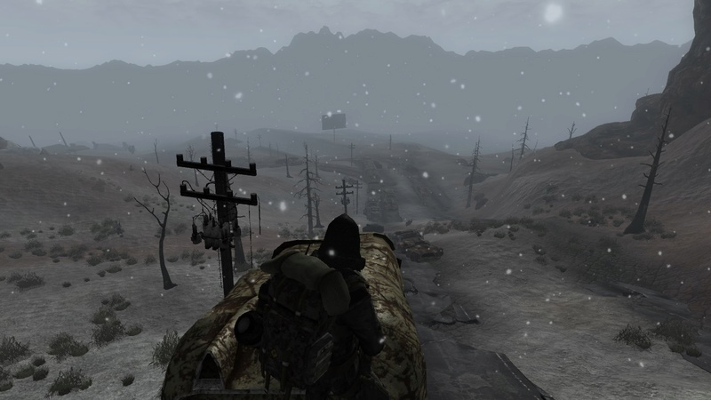 Fallout: Dust with snow and tree mods  Screen10