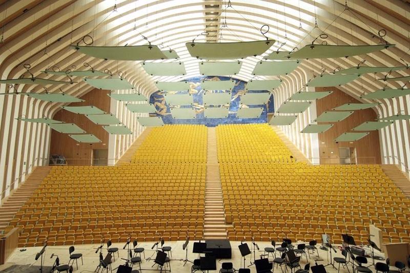 La sala con mejor acústica del mundo, o eso dicen Palaur10