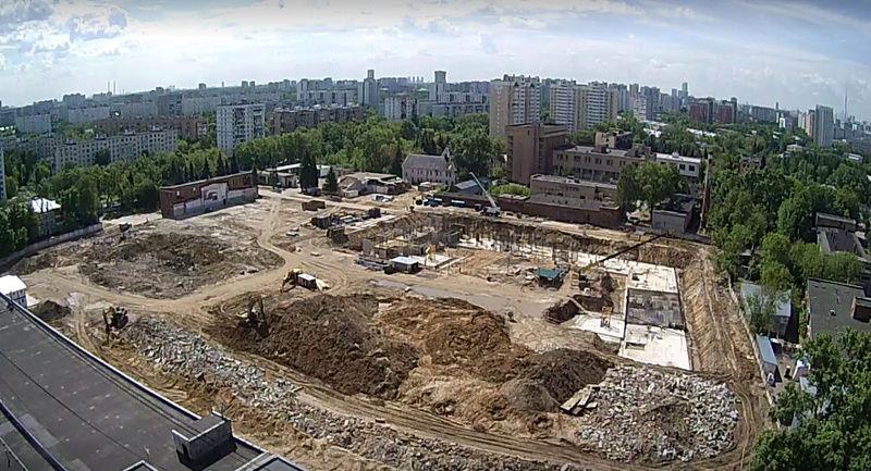 """Веб-камеры на площадке строительства ЖК """"Нормандия"""" Hevyqe10"""