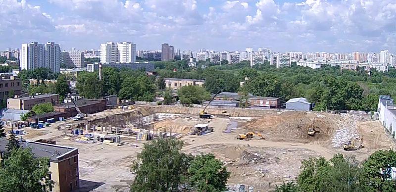 """Веб-камеры на площадке строительства ЖК """"Нормандия"""" Hevyqe11"""
