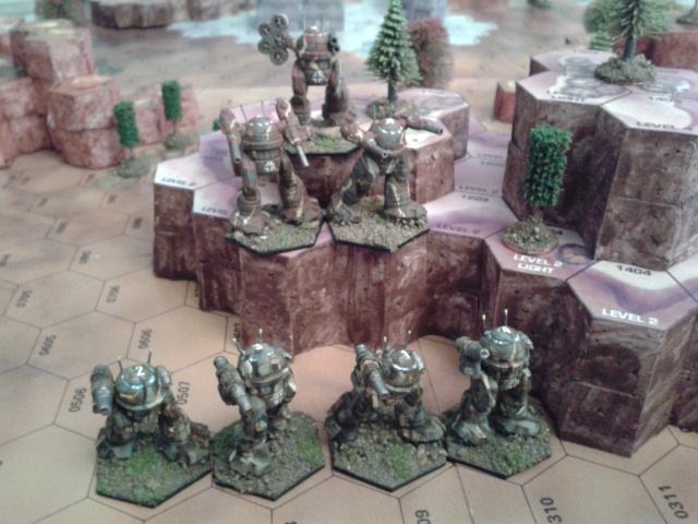 Informe de Batalla: El primer combate de los Die Brecher 0110