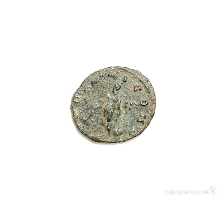 Antoniniano de Aureliano. APOLLINI CONS. Apolo estante a izq. Ceca Roma. Rev_111