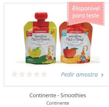 Amostra Continente- Smoothies  18952611