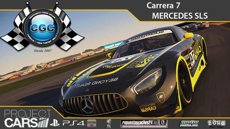 7ª Carrera, Donington Park con el Mercedes SLS GT3 Carrer10
