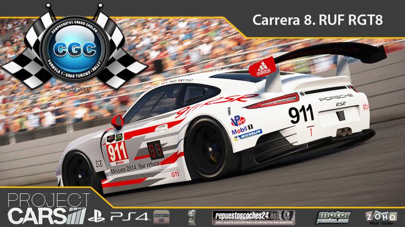 8° Carrera. Circuito Imola con el Ruf RGT8 Carrer12