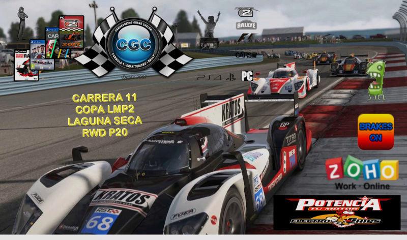 11ª Carrera en Laguna Seca con el RDW P20 LMP2 Carrer15