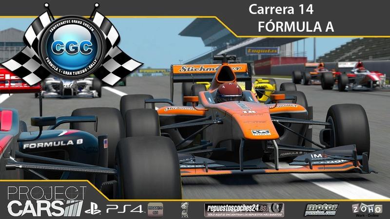 14ª Carrera. GP de Monza con el Formula A Carrer19