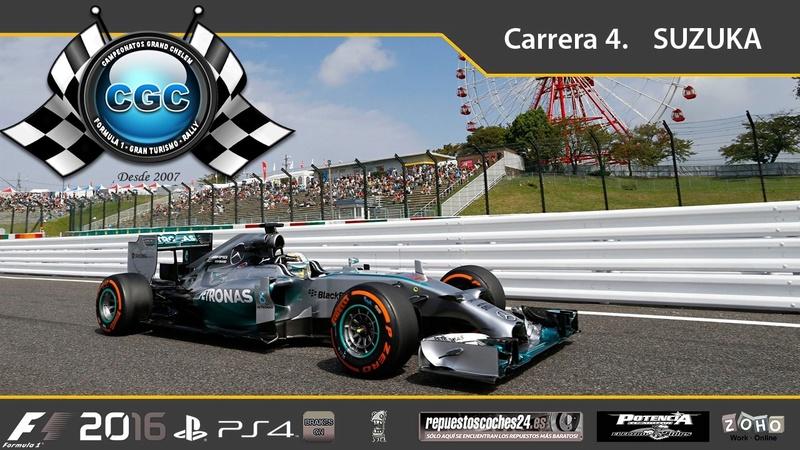 4ª Carrera. GP de Japon, Suzuka Suzuka11