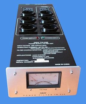 Regleta corriente Filtro10