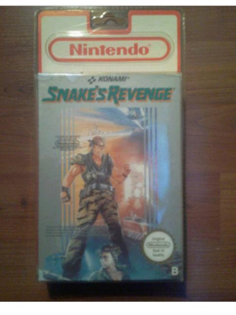 Doutes sur un Snake's revenge Nes blister Screen10