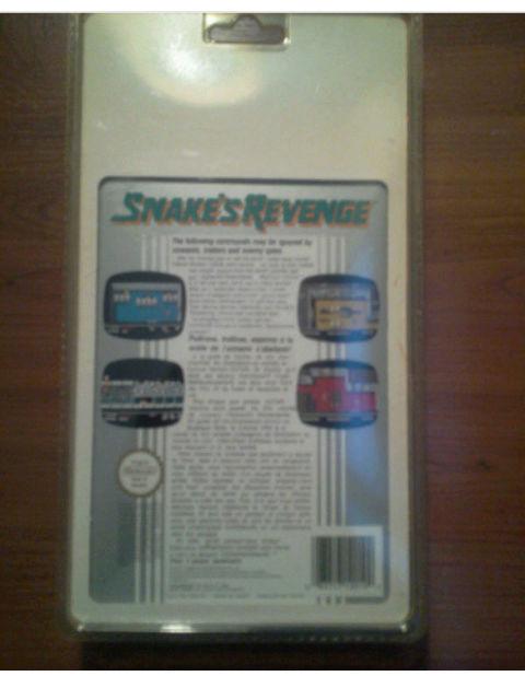 Doutes sur un Snake's revenge Nes blister Screen12