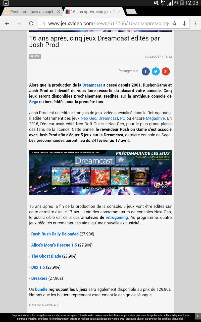 5 jeux Dreamcast prochainement de sortie Screen15
