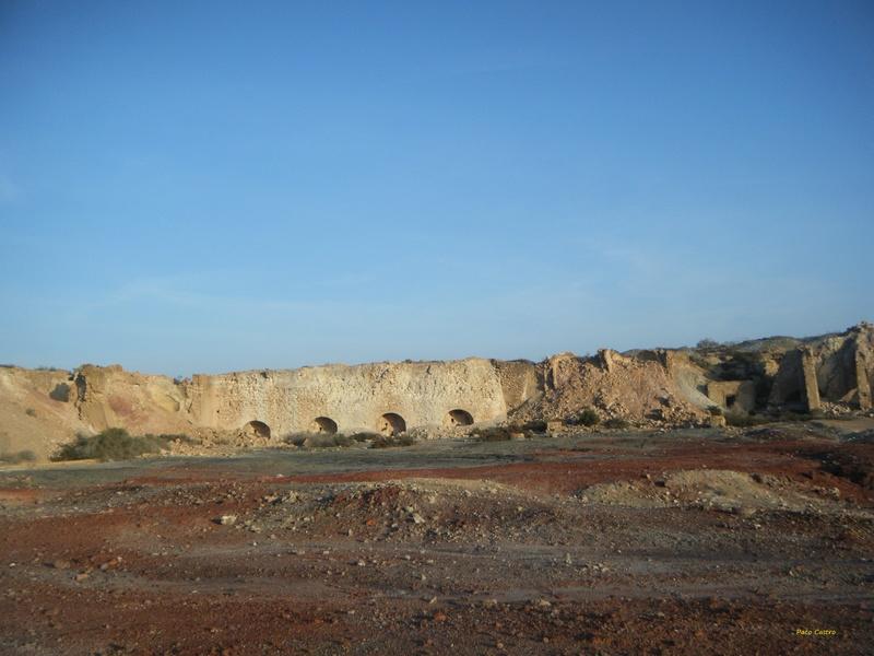 Minas de azufre, La Partala, Benahadux, Almeria, Andalucia, España Dscf4710