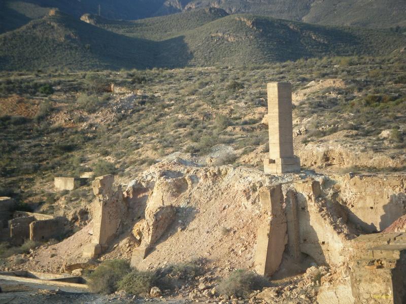 Minas de azufre, La Partala, Benahadux, Almeria, Andalucia, España Dscf4711