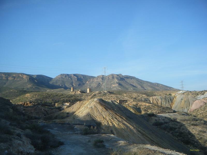 Minas de azufre, La Partala, Benahadux, Almeria, Andalucia, España Dscf4712