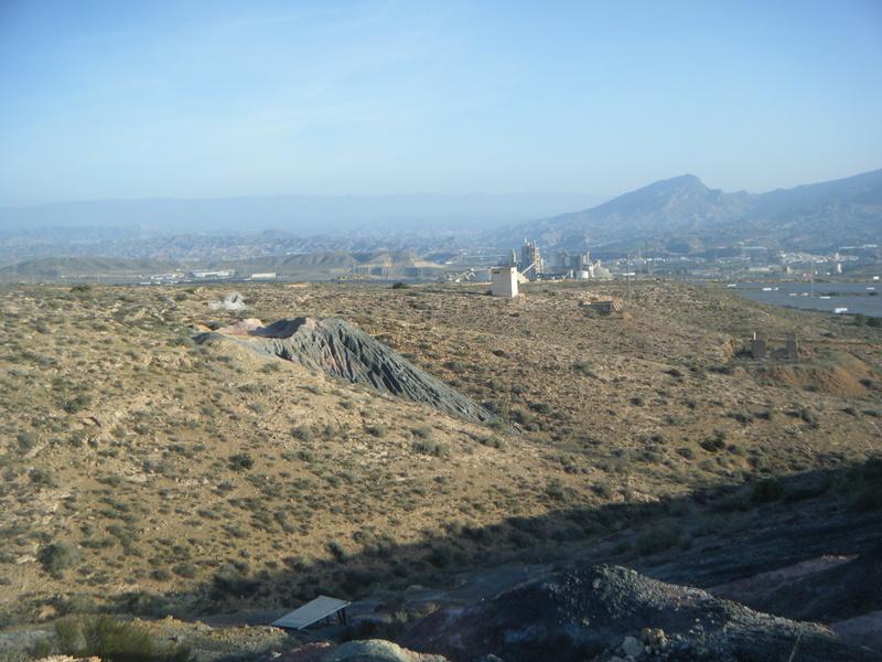 Minas de azufre, La Partala, Benahadux, Almeria, Andalucia, España Dscf4713