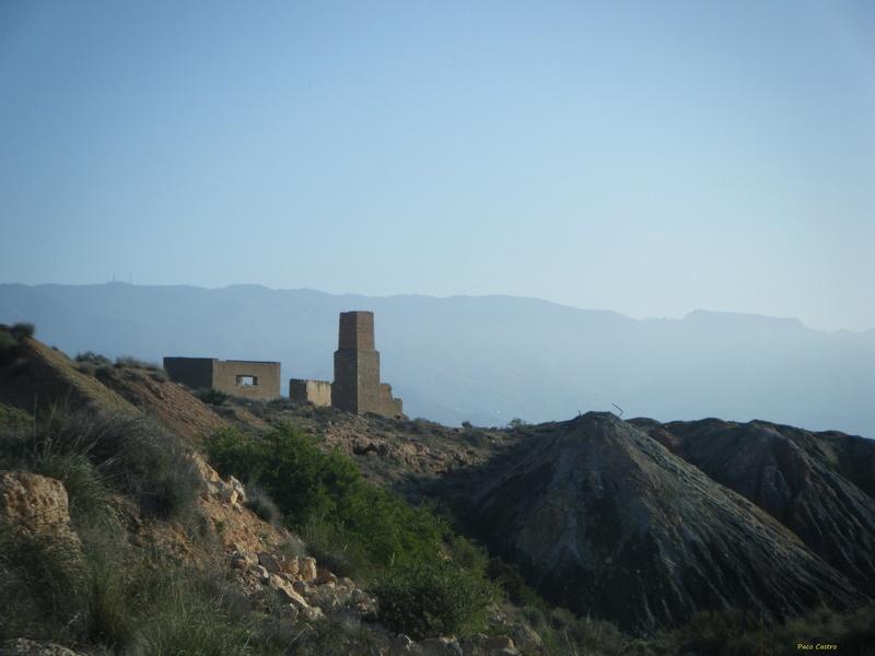 Minas de azufre, La Partala, Benahadux, Almeria, Andalucia, España Dscf4716