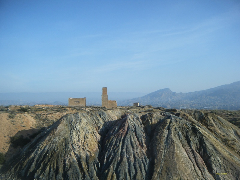 Minas de azufre, La Partala, Benahadux, Almeria, Andalucia, España Dscf4717